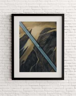 Icelandic road print - Islandia - Alvaro Valiente