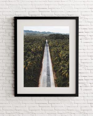 Philippines tropical road print - Filipinas - Alvaro Valiente